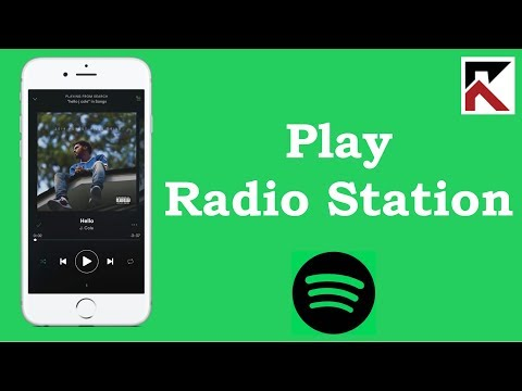 How To Play A Radio Station Base On A Song Spotify