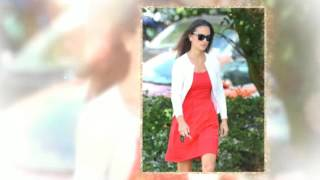 видео Красное платье как носить