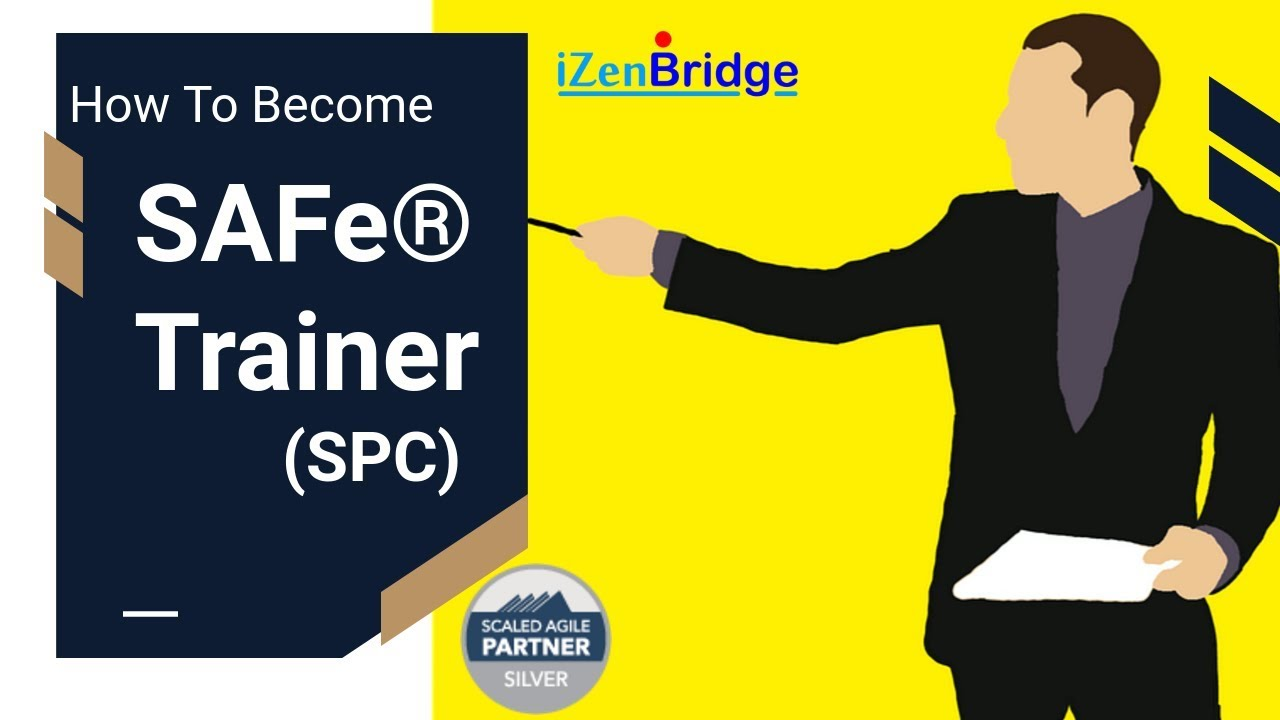 How To Become Scaled Agile Framework Safe Trainer Youtube