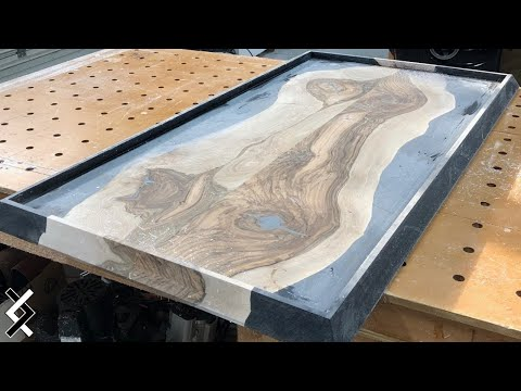 Use Half the Epoxy - How To Make Epoxy Resin Table - DIY Projects