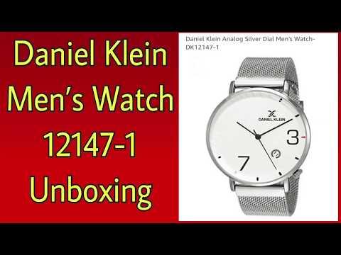 Unboxing Daniel Klein Men's Watch 12147-1