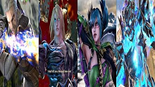 SOULCALIBUR 6 - All 22 Characters Ultimate Attacks (Critical Edge) PS4 Pro