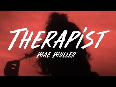 Mae Muller - Therapist (Lyrics)