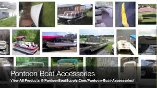 Pontoon Boat Accessories & Parts For Large Deck Boats & Small To Mini Inflatable Pontoons
