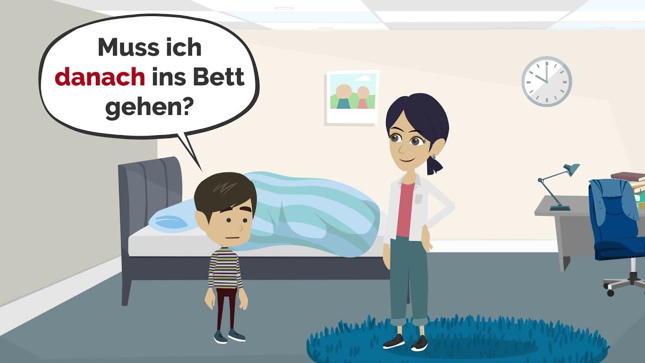 Deutsch lernen mit Gesprächen