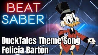 Beat saber - ducktales theme song felicia barton (custom song)