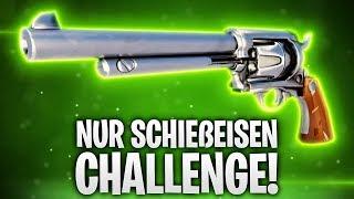 NUR SCHIEßEISEN CHALLENGE! 🔫❌ | Fortnite: Battle Royale