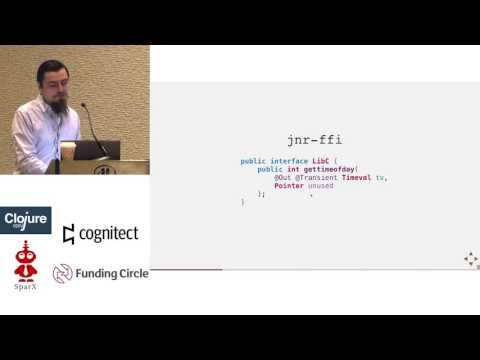 Using Clojure with C APIs for crypto and more
