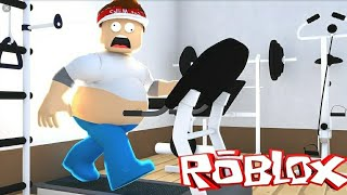 Fleeing from roblox gym #mhd 652