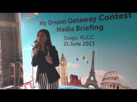 Eeza Zainal 'Sayang' @ PETRONAS MY DREAM GETAWAY launcing! Travel Video