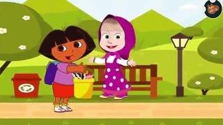 Маша и медведь. Свинка Пеппа. Маша и мульт герои. Видео для детей.  Маша мен аю. Peppa Pig.