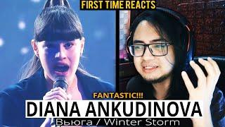 GUITARIST Reacts to DIANA ANKUDINOVA - Вьюга (Диана Анкудинова - Вьюга) - First Time Reaction