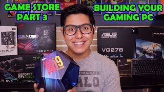 [ASMR] Game Store Role Play Part 3! (Building YOUR PC!)