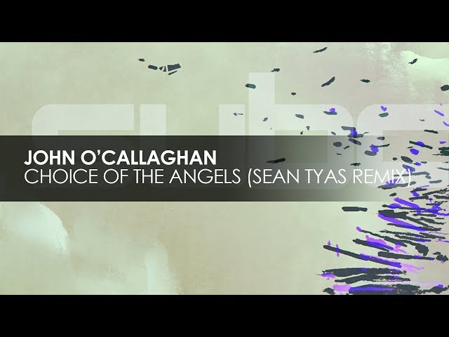 John O'Callaghan - Choice Of The Angels (Sean Tyas Extended Remix)