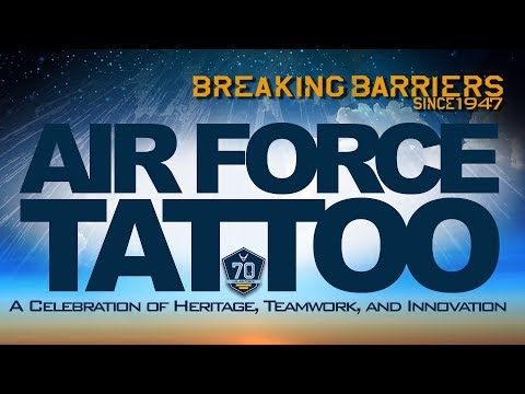 The United States Air Force 70th Birthday Tattoo
