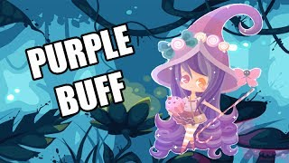 PURPLE BUFF