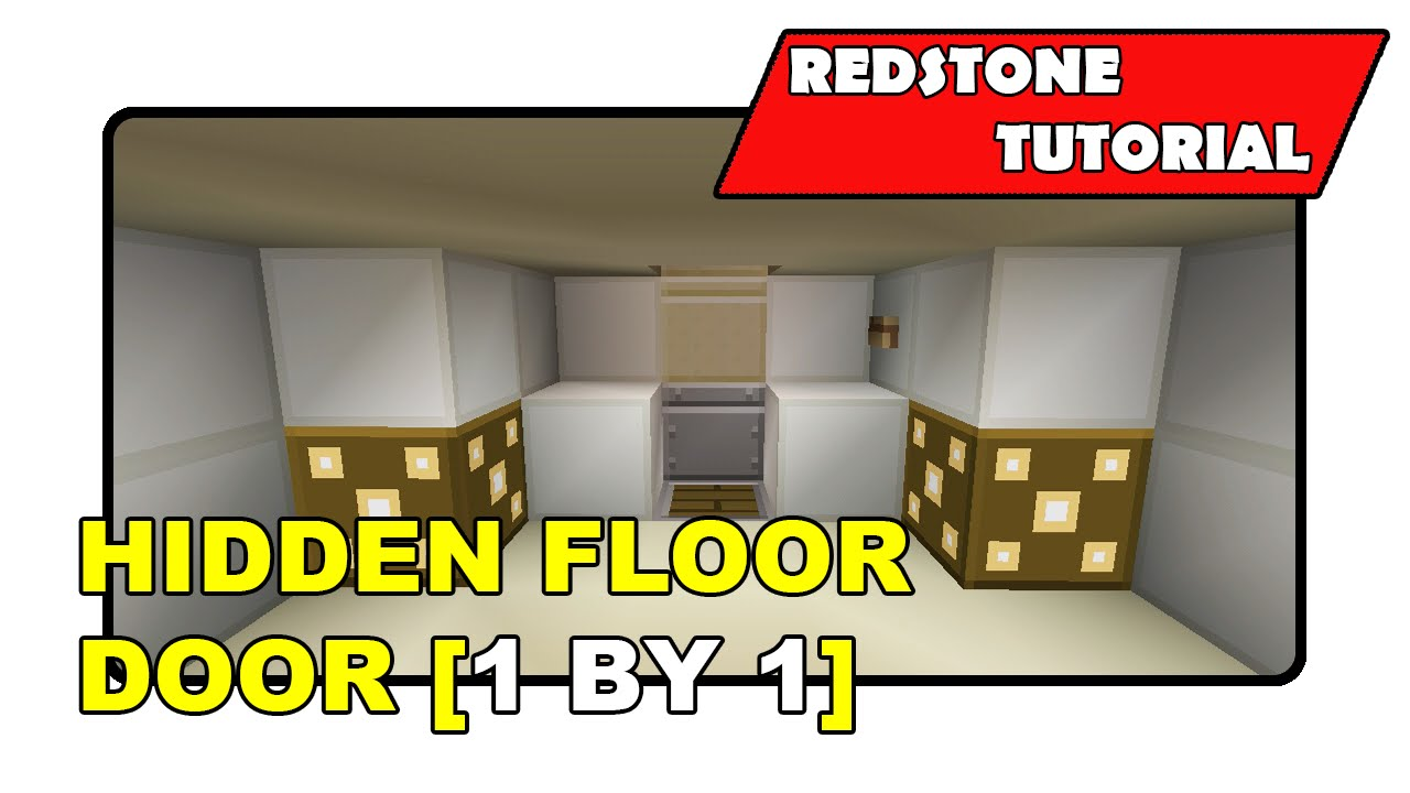Hidden Floor Door [1 By 1] \