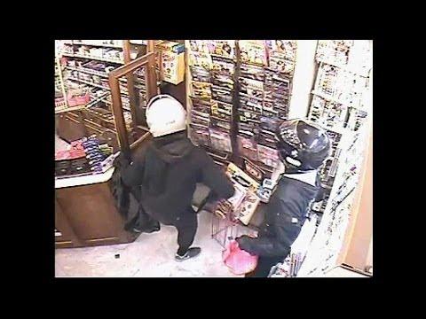 Un braquage d'un bureau de tabac filmé par vidéosurveillance - 23/10
