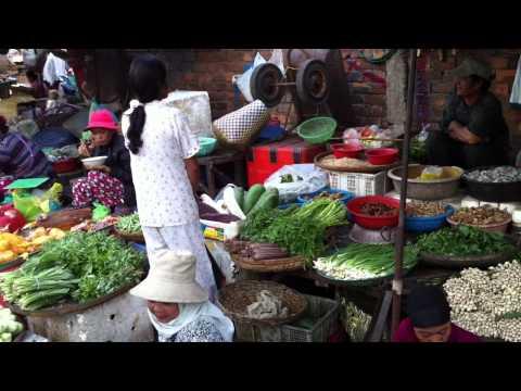 Phnom Penh: Street Market