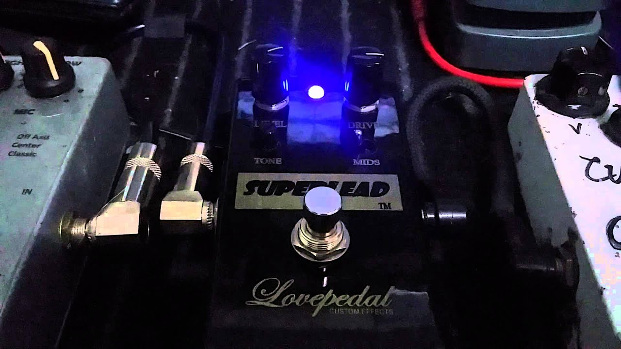 Test Lovepedal Superlead Marshall In A Box Stye Youtube