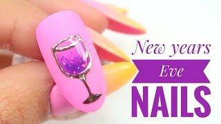 💅💅 :: New Years Eve Nails :: 💅💅 Nailart by Natalia