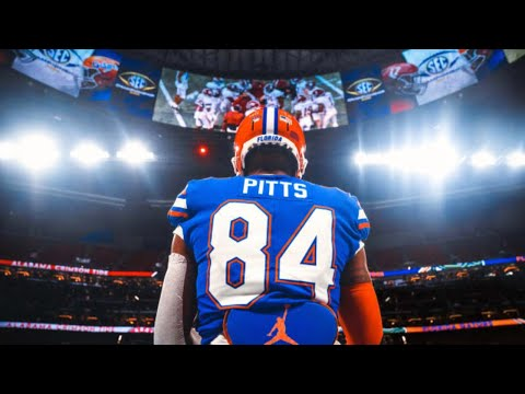 Best TE in the Nation   Florida TE Kyle Pitts 2020 Season Highlights