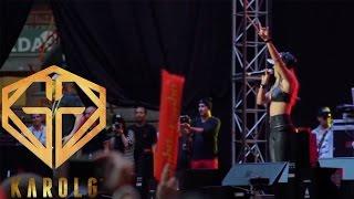 Karol G Ft Nicky Jam - Jumbo Concierto 2014 | Amor de Dos en Vivo