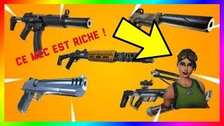 I RENCONTRE A MEC HYPER RICHE ON FORTNITE SAUVER THE WORLD... IT ME DONNE A OMG FOSSOYEUR