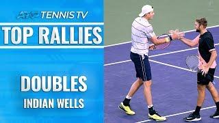 Top Indian Wells ATP Doubles Rallies!