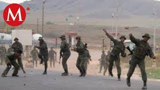Enfrentamientos entre militares y civiles