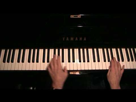 Basic Blues piano improvisation, blues scale