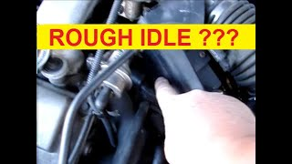 Rough Idle How to Fix- Ford Taurus Engine Stalls at Stop Signs