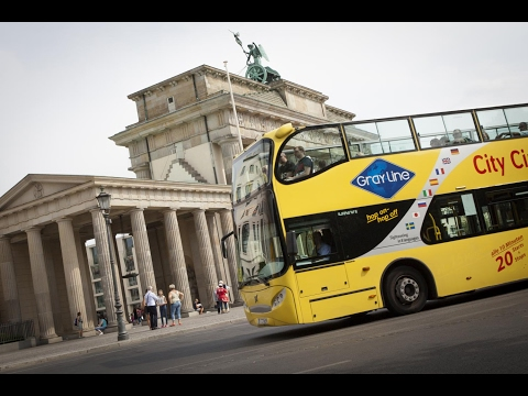 "BERLIN ""CITY CIRCLE"" BUS TOUR + BOAT CRUISE ALONG RIVER SPREE, NOVEMBER 2016"