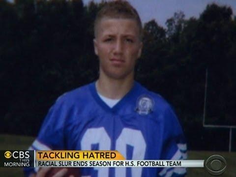 Racial slur ends season for high school football team