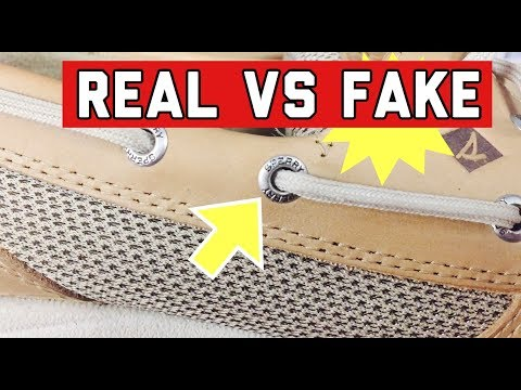 HOW TO SPOT FAKE SPERRY SHOES | BEFORE YOU BUY BOAT SHOES | WHICH IS BETTER?