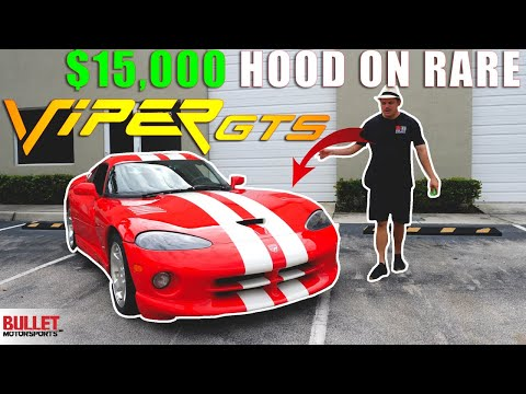 $15K Hood On FINAL EDITION Dodge Viper GTS [4k] | REVIEW SERIES