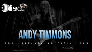 Andy Timmons on Guitar Talk with Jimmy Warren