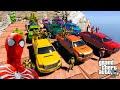 SERU Balap Mobil Superhero Spiderman, Hulk, Superman, Batman, Dan Superhero Lainnya