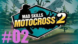 GAMEPLAY MAD SKILLS MOTOCROSS 2 MODO CARREIRA PARA NOVATO COMPETINDO SÓ COM PROFISSIONAIS #02