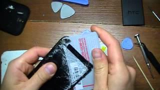 HTC Desire SV T326e замена дисплея и сенсора(HTC Desire SV T326e замена дисплея и сенсора, и маленький мануал по разборке. !!!! Берегите глаза при разборке !!!!, 2013-09-16T21:04:49.000Z)