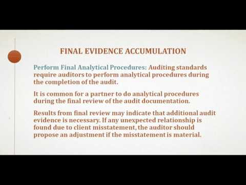 Auditing and Assurance Services Chapter 24 (Completing the Audit)