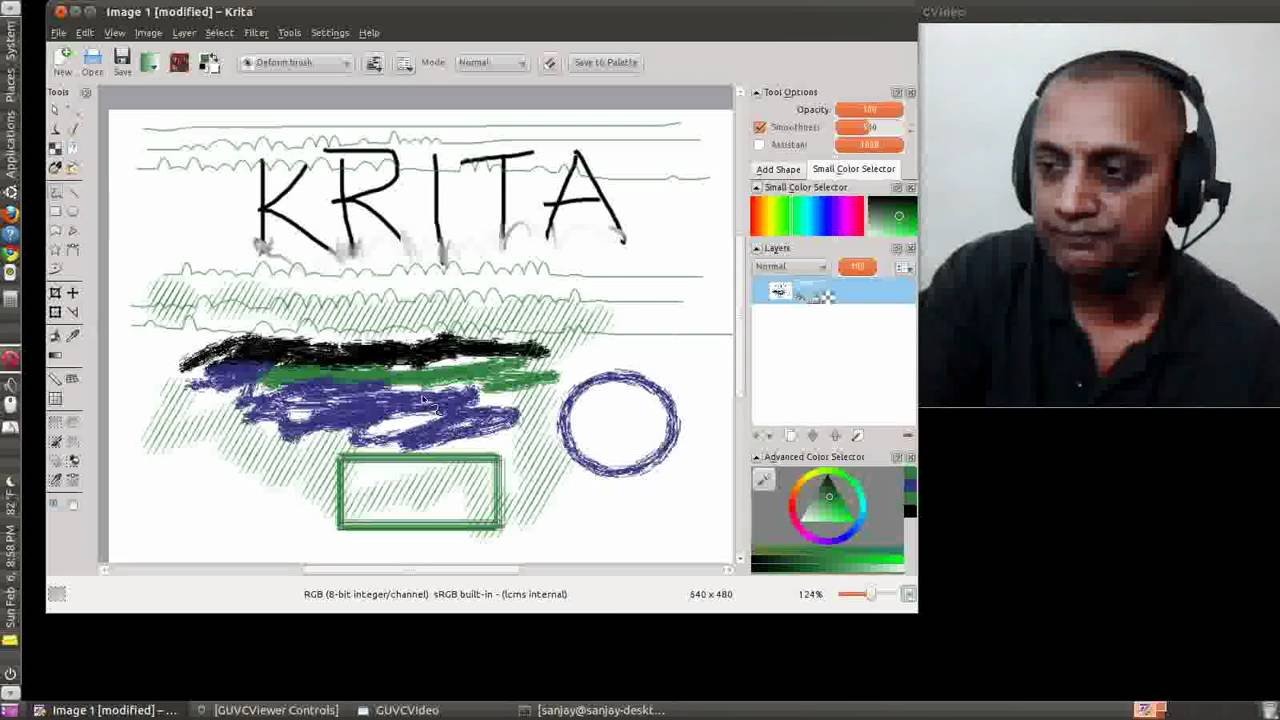Krita Digital Drawing Program Youtube
