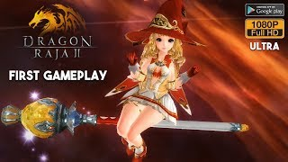 Dragon Raja 2 - NEW Mobile MMORPG First Gameplay Android / iOS - Mage