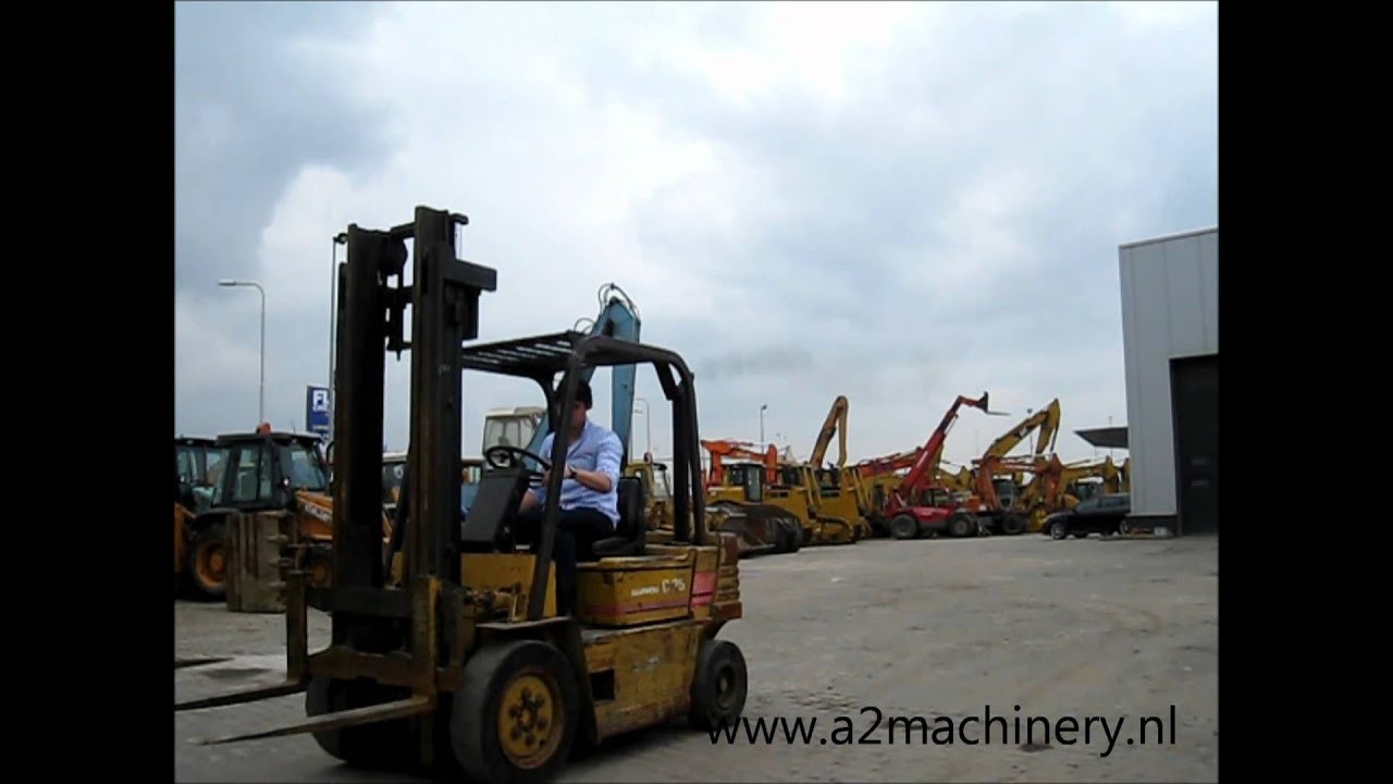Used Daewoo D25 forklift for sale A2 Machinery - YouTube