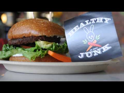 Healthy Junk ✿ Vegan Restaurant in Anaheim