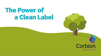 Corbion Clean Label Consumer Insight