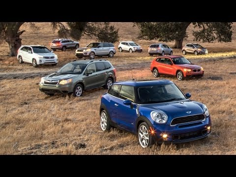 Picking the 2014 Motor Trend Sport Utility of the Year! - Wide Open Throttle Ep 85