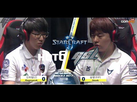 Ragnarok vs Stork ZvP Code A Day 2 Match 3 Part 1, 2015 HOT6 GSL Season 3   StarCraft 2