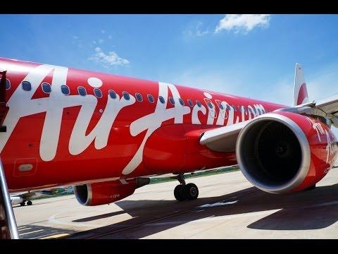 Air Asia Flight From Krabi To Bangkok แอร์เอเซีย กระบี่ - กรุงเทพฯ
