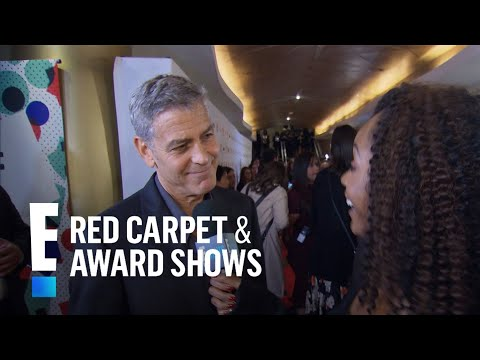 George Clooney's Twins Have Amal's Eyes  E! Live from the Red Carpet